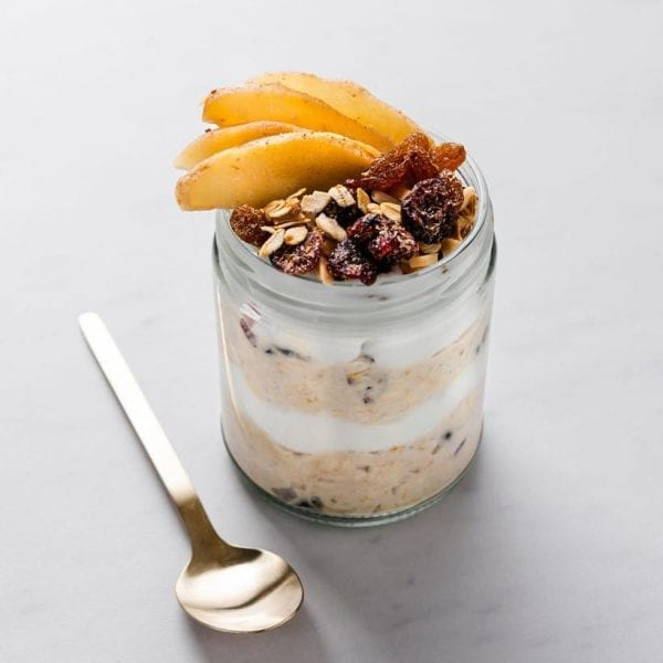 Bircher Muesli with Spiced Apple