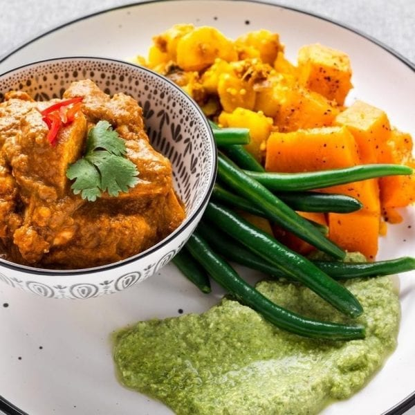 BUTTER CHICKEN pre made meal