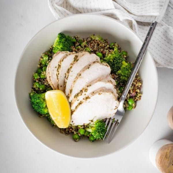 Chicken & Supercharged Quinoa fresh meal