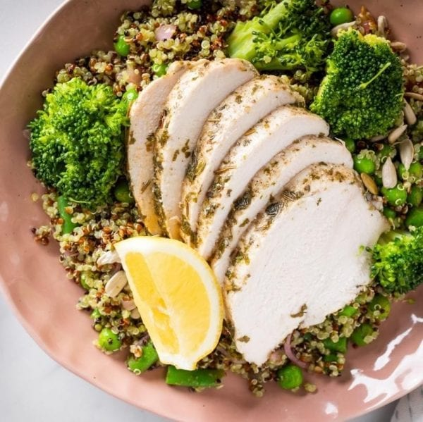 CHICKEN SUPERCHARGED QUINOA Weight loss meal