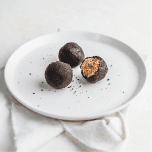 Choc Chip Cookie Dough Protein Balls home meal