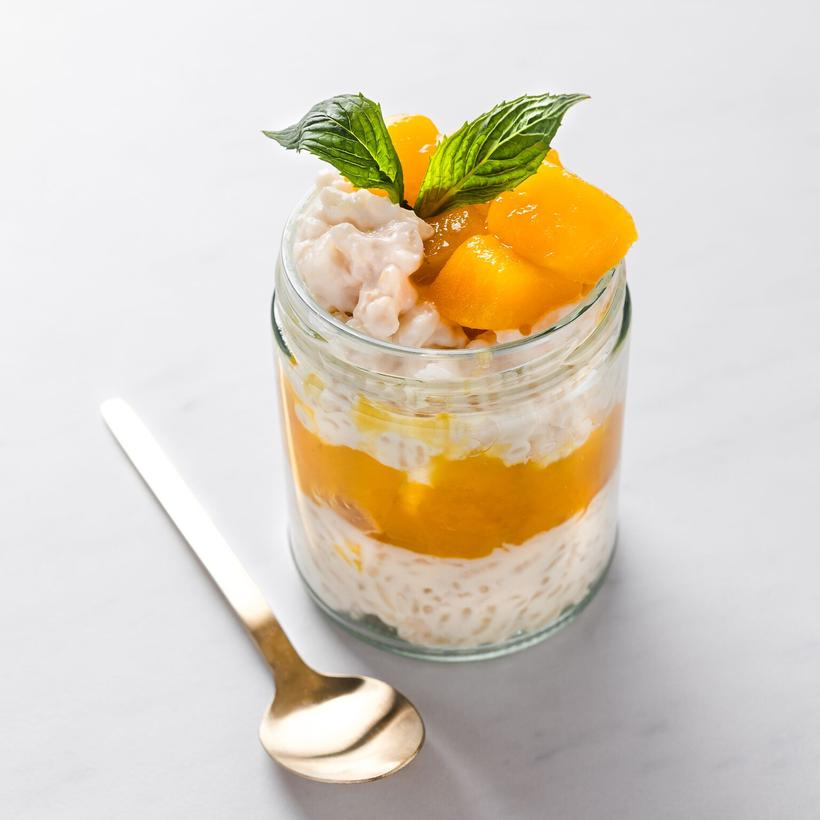 Mango & Coconut Rice Pudding (260g) 🥇 | Fast Fuel Meals