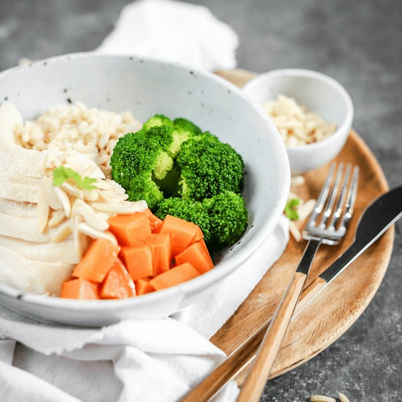 Muscle Meals Gain Naked Tender Chicken, Greens and Rice