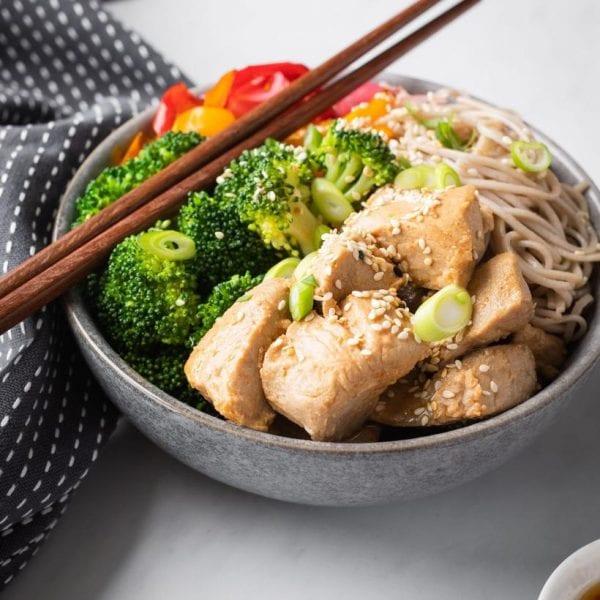 Miso Yellowfin Tuna & Soba Noodle