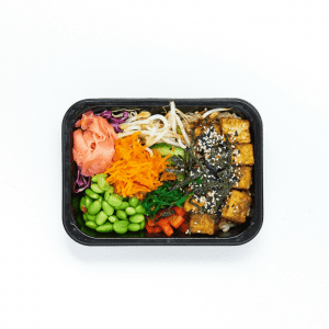Pan Seared Tofu Poke Bowl-05