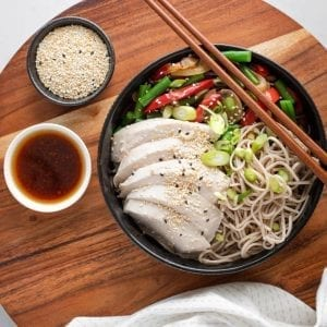 Poached Chicken & Soba Noodles-0121