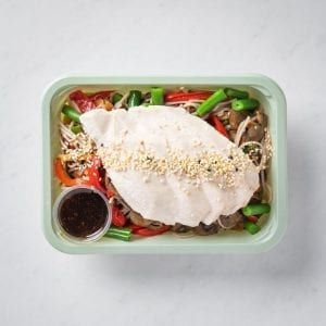 Poached Chicken & Soba Noodles-34