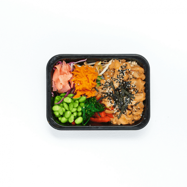 Poached Salmon Poke Bowl-2