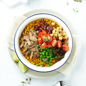 Slow Cooked Lamb Burrito Bowl-04