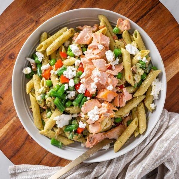 Smoked Salmon & Basil Pasta-00