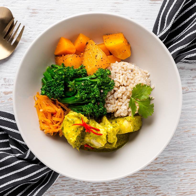 Thai Green Chicken Curry-2