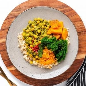 Thai Green Lentil Curry-1