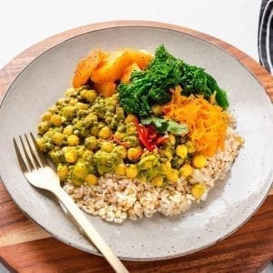 Thai Green Lentil Curry-2