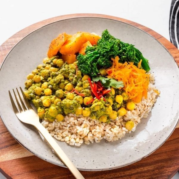 Thai Green Lentil Curry