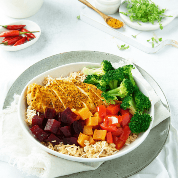 Weight Loss Moroccan Chicken Buddha Bowl