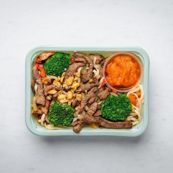 beef noodle box