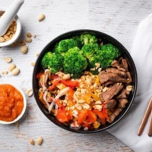 beef noodle bowl-2 pre made meal