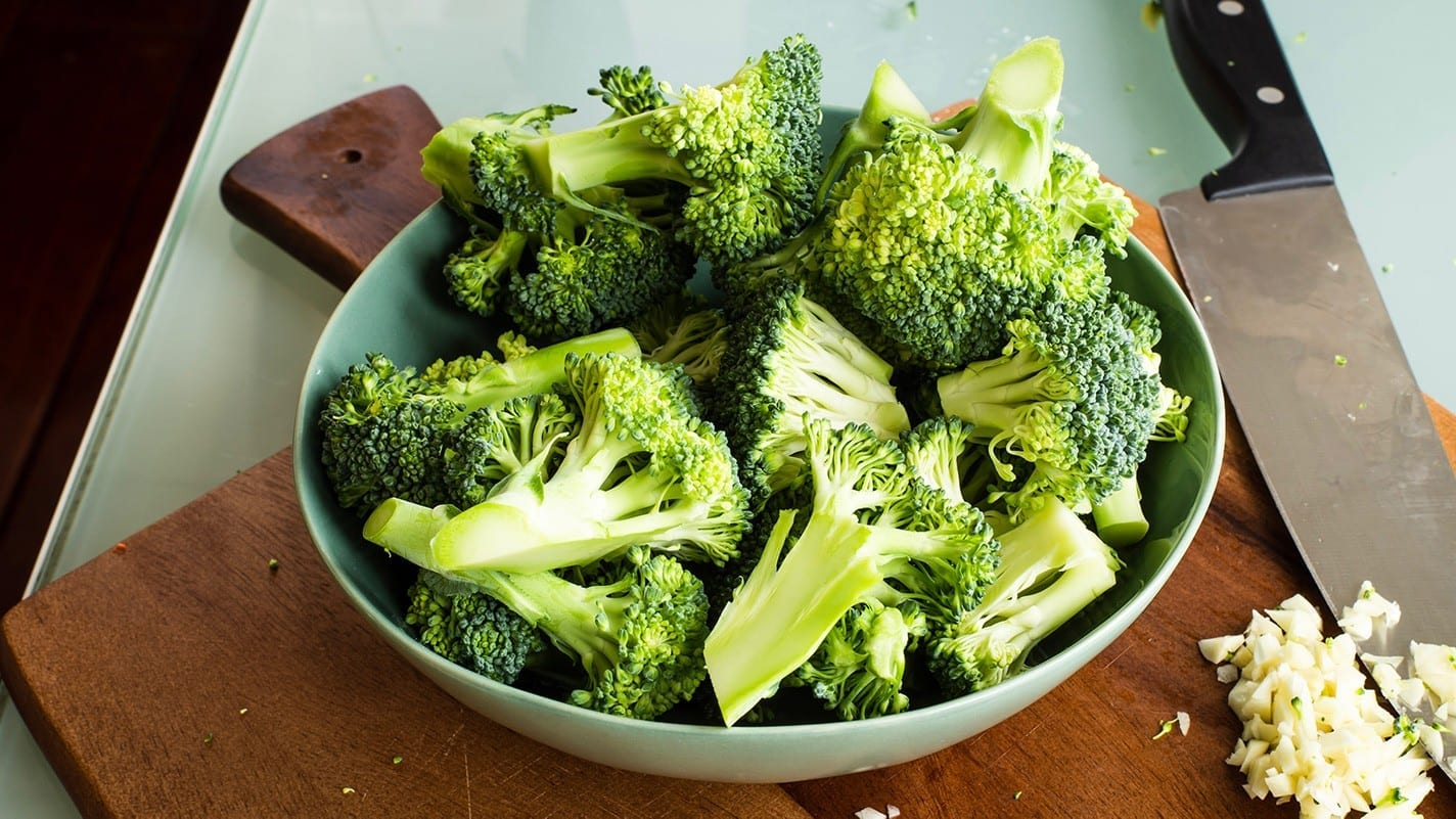 loosing weight with broccoli