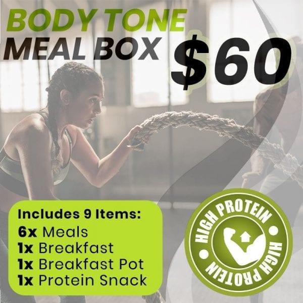body tone meal box
