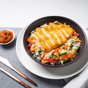 katsu bowl pre made meal