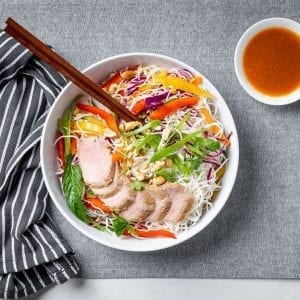 pork vermicelli bowl-pre made meal