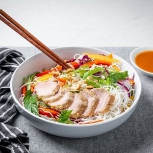 pork vermicelli bowl-2-pre made meal