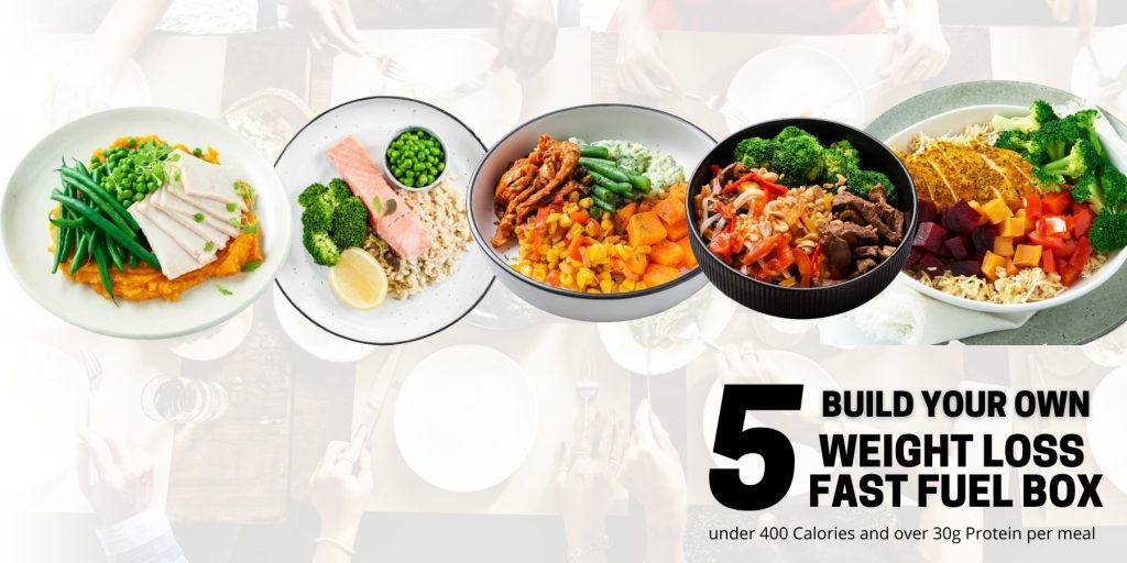 Weight Loss meals fuel box