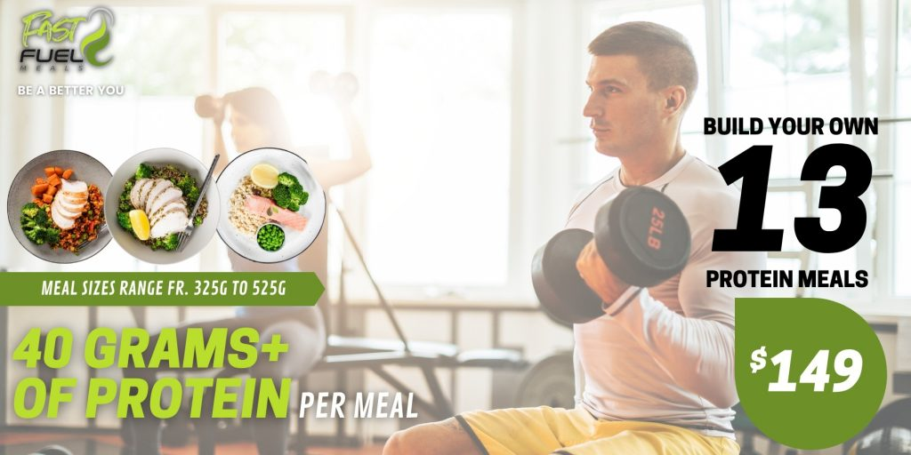 build your own protein meals